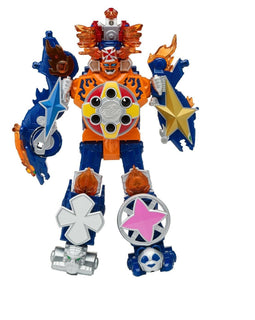 Power Rangers Super Ninja Steel Blaze Megazord 30CM 12in - ToyRoo