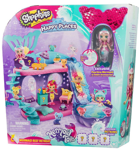 Shopkins Happy Places S6 Mermaid Reef Retreat Playset