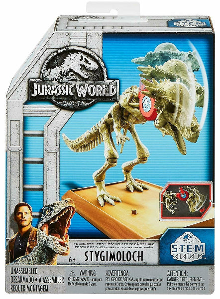 Jurassic World Fossil Strikers Stygimoloch Figure ( S.T.E.M ) - ToyRoo