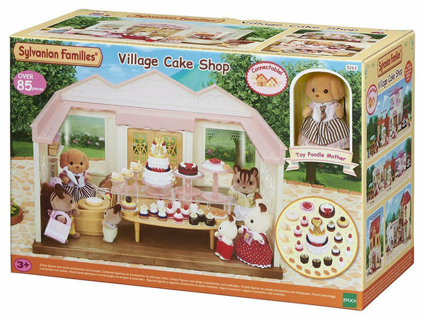Sylvanian Families Village Cake Shop,Playset