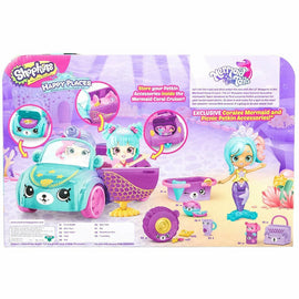 Shopkins Happy Places S6 Mermaid Convertible - ToyRoo