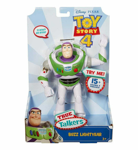 Disney Pixar Toy Story 4  True Talkers  Buzz Lightyear Figure 7 inches - ToyRoo