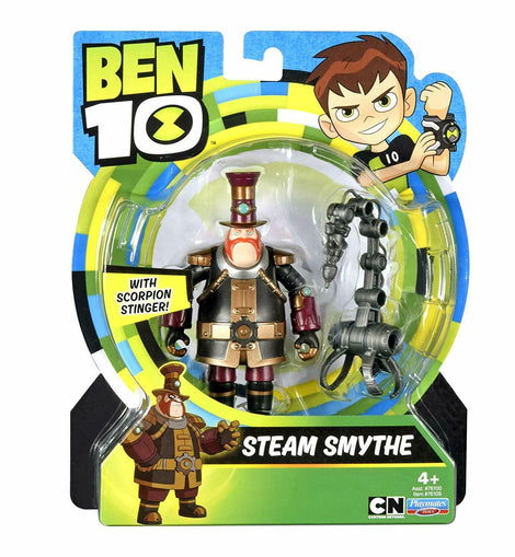 Ben 10 Steam Smythe Action Figure - ToyRoo