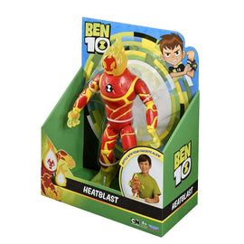 Ben 10 Giant Action Figure Battle Kids Toy 10inch - Heatblast - ToyRoo