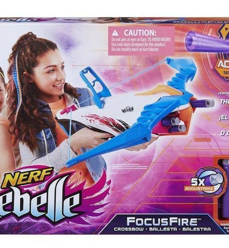 Nerf: Rebelle - Focus Fire Crossbow - ToyRoo