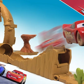 Disney Pixar Cars 3 Willy's Butte Transforming Track Set - ToyRoo