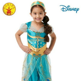 JASMINE LIVE ACTION ALADDIN COSTUME, SIZE 9-10 - LICENSED COSTUMES - ToyRoo