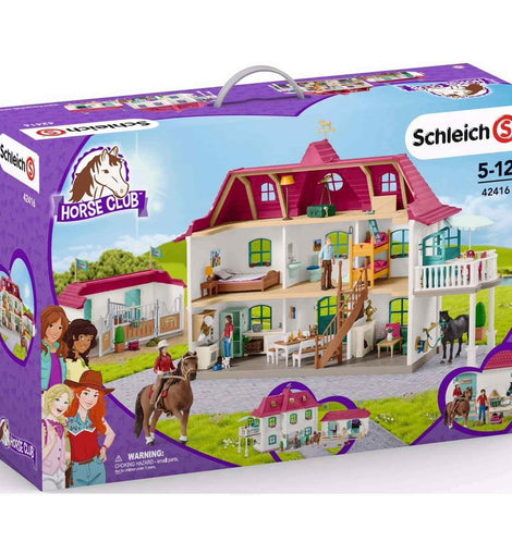 Schleich Large Horse Stable Playset SC42416 - ToyRoo
