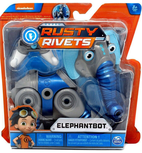 Nickelodeon Rusty Rivets Build Me Rivet System Elephantbot Figure - ToyRoo