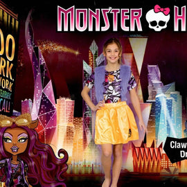 Monster High Boo York Clawdeen Wolf Costume - Licensed