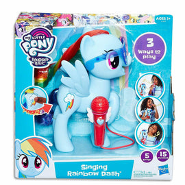 "MY LITTLE PONY - 8"" Singing Rainbow Dash - Electronic Kids Toys - ToyRoo"