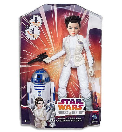 Star Wars: Forces of Destiny - Princess Leia Organa and R2-D2 Adventure Set