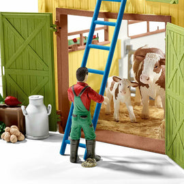 Schleich SC42333 Large Farm with Accessories Playset - ToyRoo