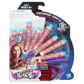 Nerf Rebelle Reusable Message Darts 8 Pack Darts That Revealsecret Messages New! - ToyRoo