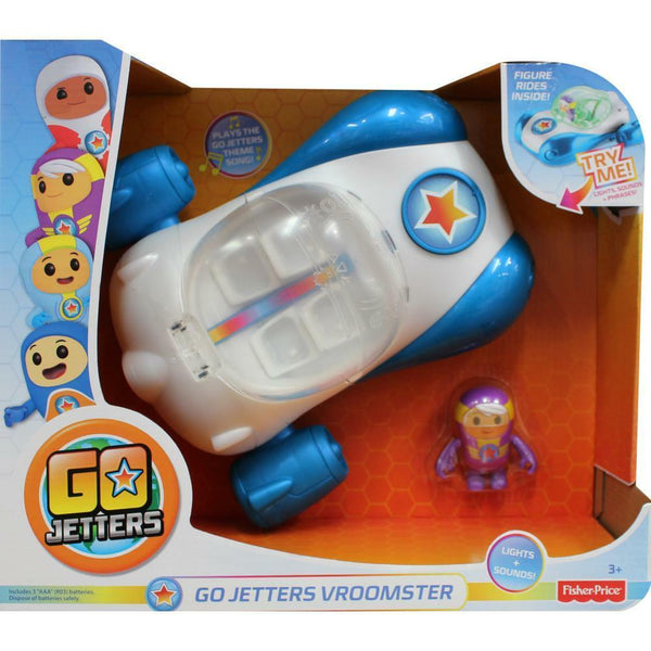 Go Jetters Vroomster - Lights & Sound - ToyRoo