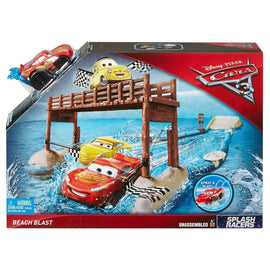 Disney Pixar Cars 3 Fireball Beach Pier Splash Racers Beach Blast Race Playset - ToyRoo