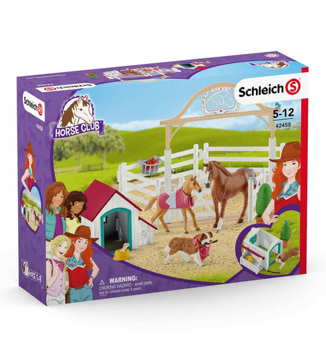 NEW Schleich - Horse Club Hannah's guest horses with Ruby the dog - SC42458 - ToyRoo