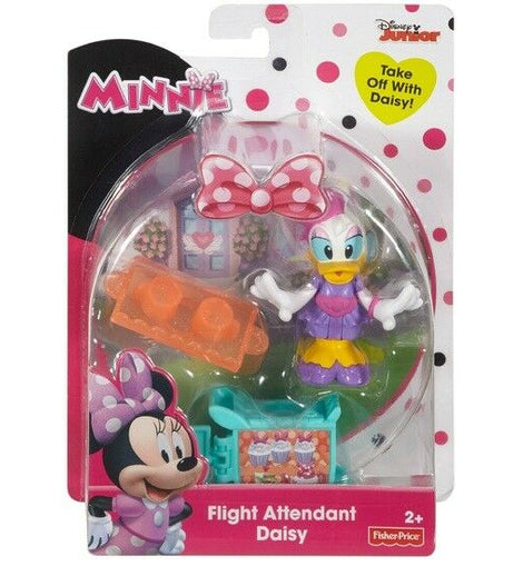 Disney Minnie Mouse Figure Flight Attendant Daisy Pack