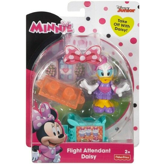 Disney Minnie Mouse Figure Flight Attendant Daisy Pack - ToyRoo