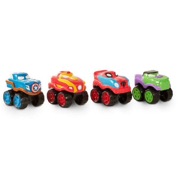 Hero Drive Marvel Speed Squad Minis 4 Pack ( 4 inch )