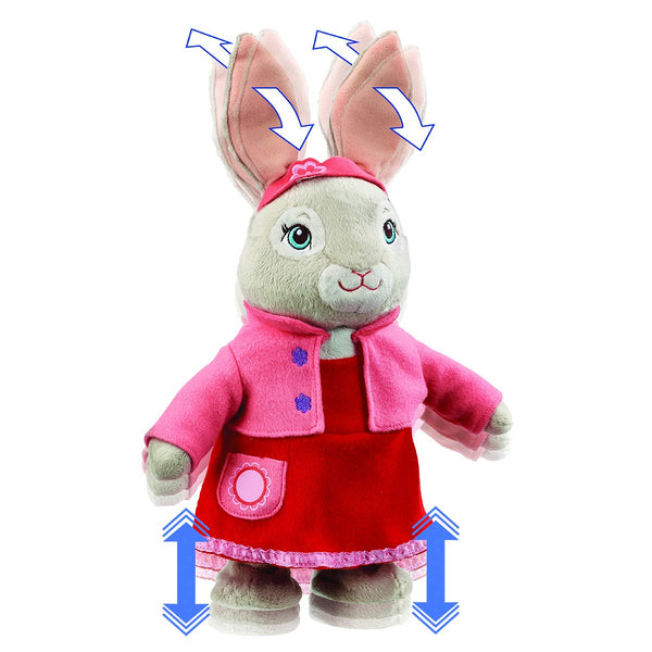TALKING & HOPPING LILY  BOBTAIL FROM PETER RABBIT