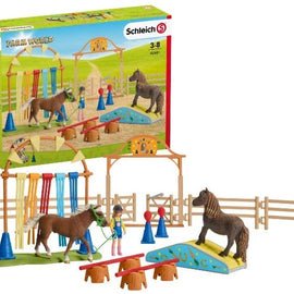 Schleich Pony Agility Training Playset - SC42481