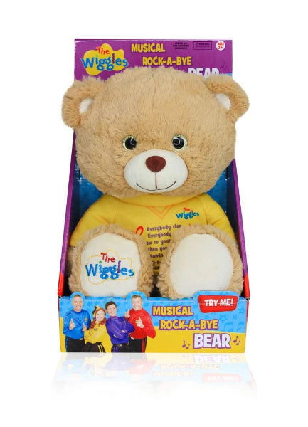 Wiggles Musical Rock A Bye Bear