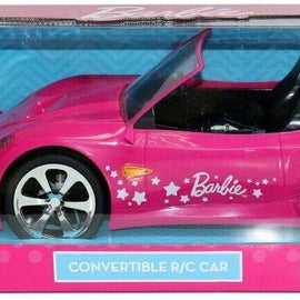 Barbie Convertible RC Car