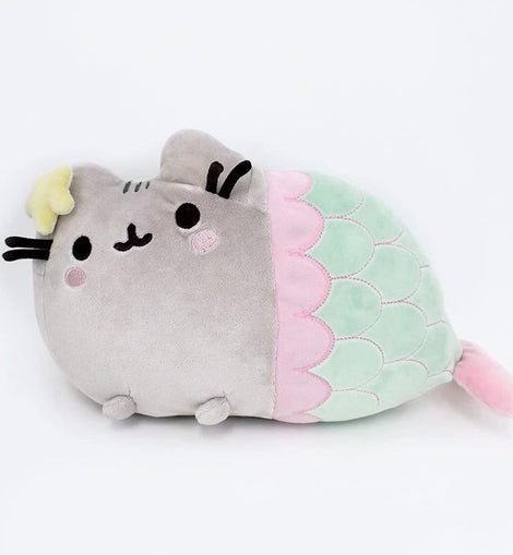 GUND Pusheen Mermaid with Star Plush Stuffed Animal Cat, 33cm