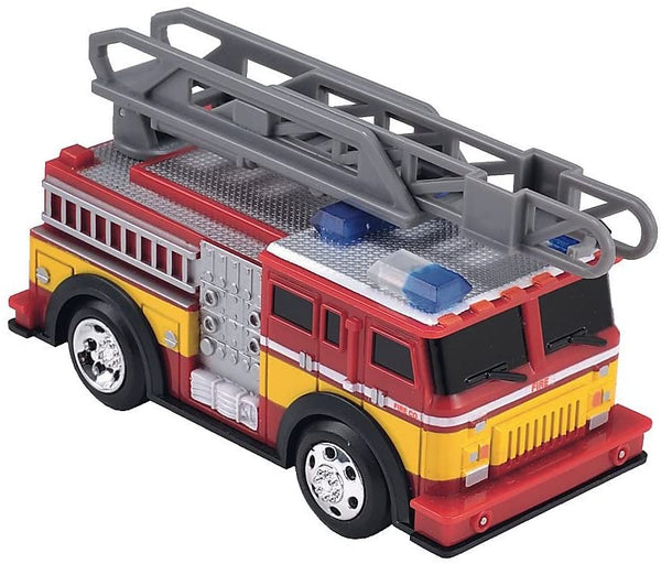 Early Learning Centre ELC - Lights and Sounds Fire Engine - race the firefighters to the rescue