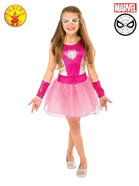 PINK SPIDER-GIRL TUTU DRESS, CHILD - LICENSED COSTUME - ToyRoo
