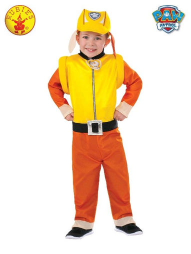 RUBBLE PAW PATROL COSTUME, TODDLER/CHILD - LICENSED COSTUMES - ToyRoo