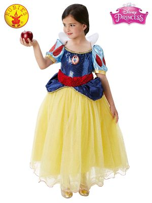 SNOW WHITE PREMIUM COSTUME, CHILD -Licensed Coostumes - ToyRoo