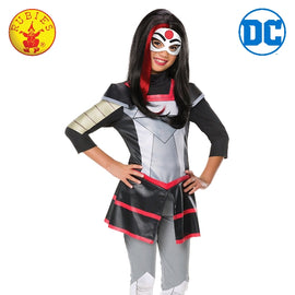 KATANA DC SUPERHERO GIRLS DELUXE COSTUME, CHILD - LICENSED COSTUMES - ToyRoo