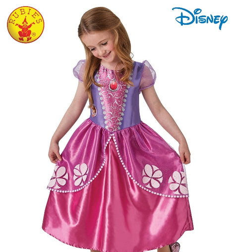 SOFIA THE FIRST CLASSIC PINK DRESS, CHILD ( 3-4 YRS )