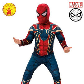 IRON-SPIDER DELUXE COSTUME, CHILD- LICENSED COSTUMES - ToyRoo