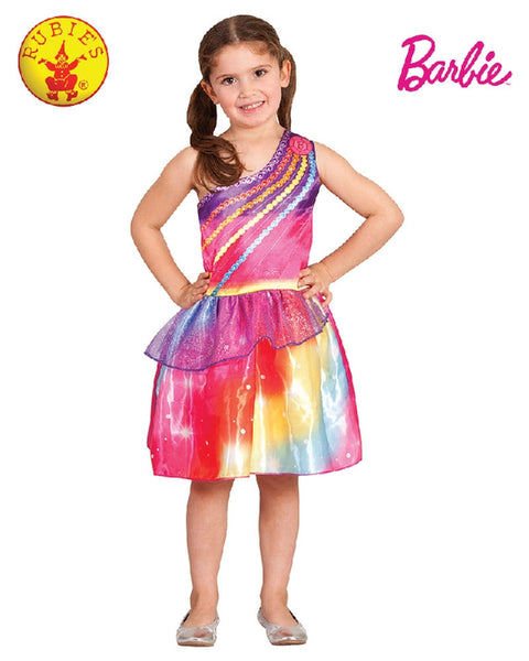 BARBIE DREAMTOPIA COSTUME, CHILD -Size (4-6 YRS) (LONG HANGING)-LICENSED COSTUME - ToyRoo
