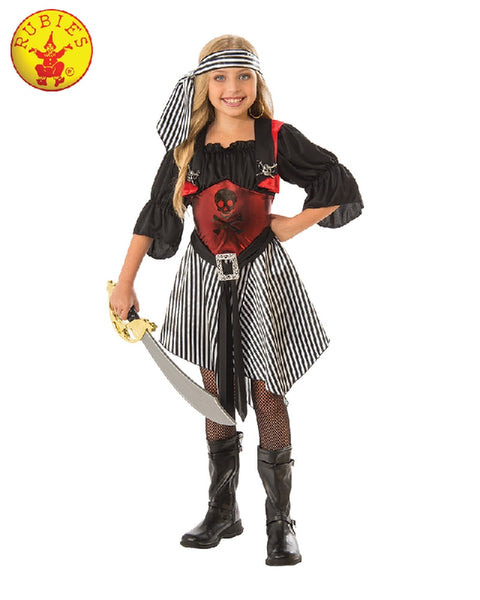 CRIMSON PIRATE COSTUME, CHILD