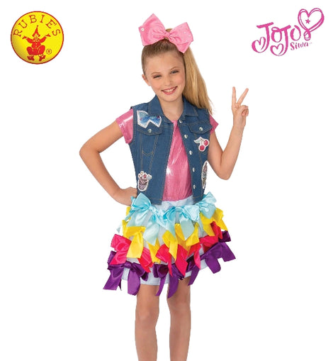 JOJO SIWA DRESS VEST SET, LICENSED COSTUMES - ToyRoo
