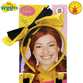 EMMA WIGGLE HEADBAND & SHOE BOWS, CHILD - LICENSED COSTUME - ToyRoo