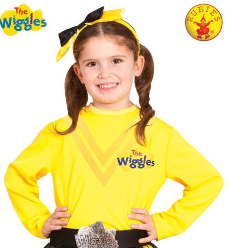 EMMA WIGGLE COSTUME TOP, CHILD -LICENSED COSTUME - ToyRoo