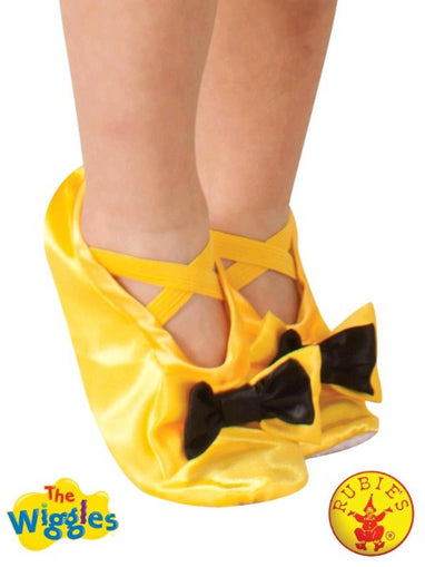 EMMA WIGGLE SLIPPERS, CHILD (SIZE-3+) LICENSED COSTUME - ToyRoo