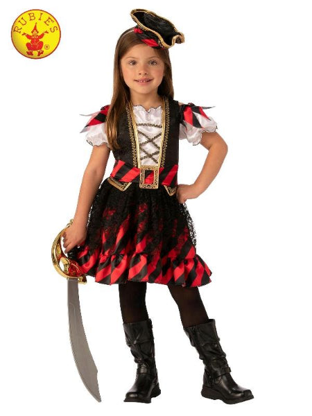 PIRATE GIRL COSTUME, CHILD - ToyRoo
