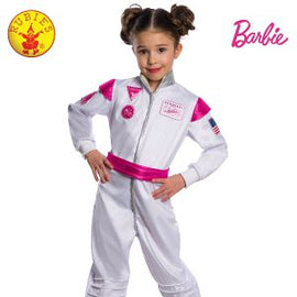 BARBIE ASTRONAUT COSTUME, CHILD - LICENSED COSTUMES