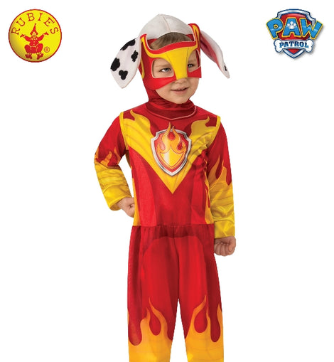 MARSHALL MIGHTY PUPS PAW PATROL COSTUME, CHILD