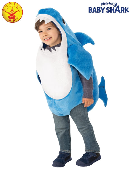DADDY SHARK DELUXE BLUE COSTUME, LICENSED COSTUMES - ToyRoo
