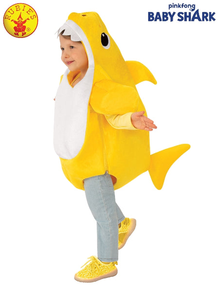BABY SHARK DELUXE YELLOW COSTUME, LICENSED COSTUMES - ToyRoo