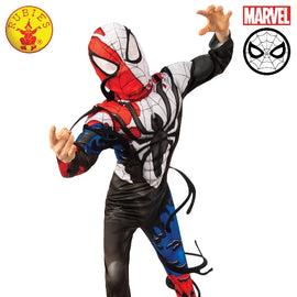 VENOMIZED SPIDER-MAN DELUXE COSTUME, CHILD