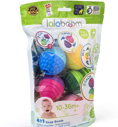 Lalaboom 12 Pc Bead Set