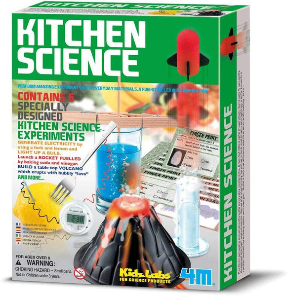4M FSG3296 KidzLabs Kitchen Science